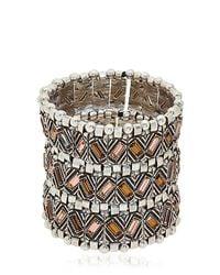 Philippe Audibert - Metallic Loa Manchette Cuff Bracelet - Lyst