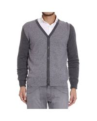 Hydrogen | Gray Sweater for Men | Lyst