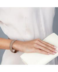 Astley Clarke - Pink Biography Wide Dusky Stones Bracelet - Lyst