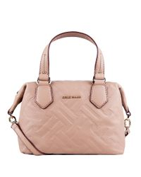 Cole Haan | Natural Hollis Leather Satchel Bag | Lyst