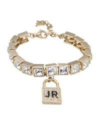 John Richmond | Metallic Bracelet | Lyst