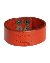 DSquared² | Red Bracelet for Men | Lyst