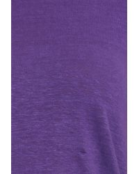 Étoile Isabel Marant | Purple Golda Ss Linen Tee | Lyst