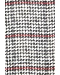 Oasis - Black Reversible Check Scarf - Lyst