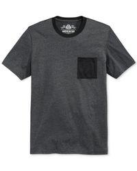 American Rag - Gray Mesh-Pocket T-Shirt for Men - Lyst