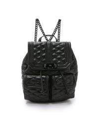 Rebecca Minkoff - Love Backpack - Black - Lyst