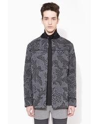 3.1 Phillip Lim - Black Quilted Western Shirt Jacket for Men - Lyst