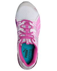 PUMA - White Women'S Powertech Voltaic Running Sneakers From Finish Line - Lyst