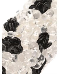Balenciaga - Black Raindrop Bead-Embellished Choker - Lyst