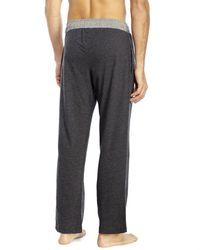 PUMA | Gray Knit Lounge Pants for Men | Lyst