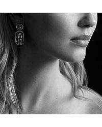 David Yurman | Blue Chatelaine Double-drop Earrings With Diamonds | Lyst
