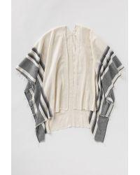 lemlem | Gray Aranya Blanket Poncho | Lyst