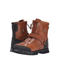Polo Ralph Lauren   Brown Conqst H Iii Boots  for Men   Lyst