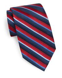 Burma Bibas | Blue Striped Silk Tie for Men | Lyst