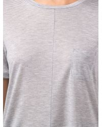 J Brand | Gray 'Gilda' T-Shirt | Lyst