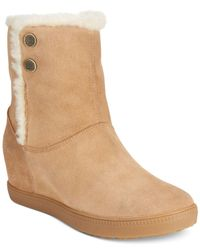 Geox | Natural D Amaranth B Abx Cold Weather Ankle Booties | Lyst