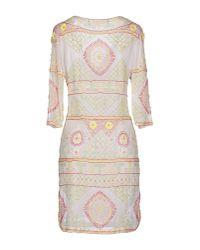 Antik Batik   White Short Dress   Lyst