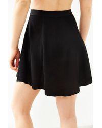 Kimchi Blue | Black Hydrangea Mini Skirt | Lyst