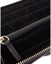French Connection - Black Soft Touch Leather Purse - Lyst
