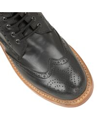 Lotus   Black 'dunford' Wingtip Boot for Men   Lyst