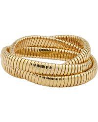 Sidney Garber | Metallic Gold Rolling Bracelet | Lyst