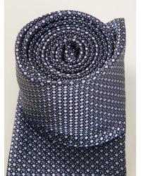 Brioni - Blue Patterned Tie for Men - Lyst