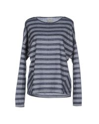 Vero Moda - Gray T-shirt - Lyst