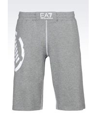 EA7 | Gray Bermudas for Men | Lyst