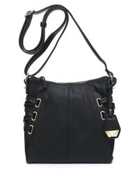 Jessica Simpson | Black Leila Faux Leather Crossbody Bag | Lyst
