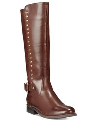Wanted | Brown Pub Studded Boots | Lyst