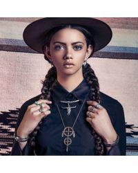 Pamela Love | Metallic Sueño Pendant In Brass | Lyst