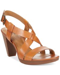 Clarks | Brown Collection Women's Jaelyn Fog Dress Sandals | Lyst