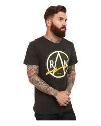 G-Star RAW - Gray Bauchan Crew Neck Short Sleeve for Men - Lyst