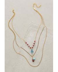 Anthropologie | Petronille Layered Necklace | Lyst