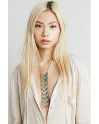 Free People | Metallic The 2 Bandits Womens Garden Route Tie | Lyst