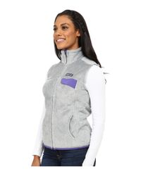 Patagonia - Gray Re-tool Vest - Lyst
