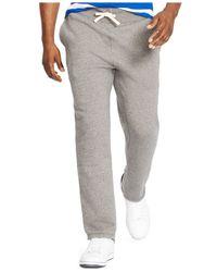Polo Ralph Lauren - Gray Classic Fleece Drawstring Pants for Men - Lyst