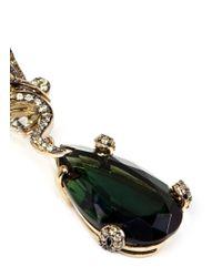Anabela Chan - 'Green Feather' 18K Gold Tourmaline Drop Earrings - Lyst