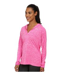 Under Armour | Pink Tech Long Sleeve Hoodie Twist | Lyst