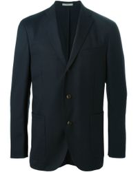 Boglioli - Blue Classic Tailored Blazer for Men - Lyst