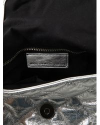 Marc By Marc Jacobs - New Q Natasha Metallic-leather Cross-body Bag - Lyst