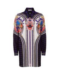 Mary Katrantzou - Multicolor Croft Silk Shirt Dress - Lyst