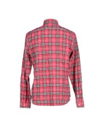 Burberry Brit | Pink Shirt for Men | Lyst