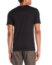 Versace - Black Graphic Tee for Men - Lyst