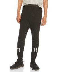 boris bidjan - Black Reflective Tie-Dye Leggings for Men - Lyst