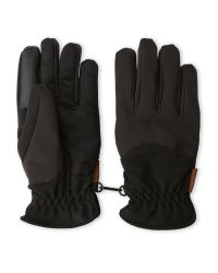 Weatherproof | Black Softshell Stretch Touch Gloves for Men | Lyst