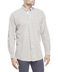 Mine | Blue Plaid Button-Down Shirt for Men | Lyst