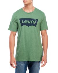 Levi's - Green Housemark Batwing Tee for Men - Lyst
