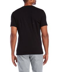 Kit and Ace - Black V-neck Tee for Men - Lyst