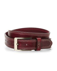 Ted Baker | Red Cricket Stitch Belt for Men | Lyst